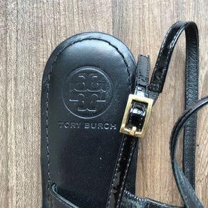 Tory Burch Shoes - Tory Burch Sandal Black Gold